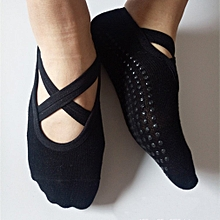 Men Women Yoga Socks Anti-skid Breathable Fitness Pilates Socks
