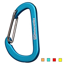 NatureHike NH15A004-H 4cm Mini Carabiner D Buckle Small Hanging Buckle Aluminum Alloy