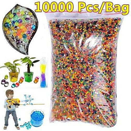 a40f1d0737 10000pcs/bag Water Beads Spa Refill Sensory Toy Soft Crystal Bullet