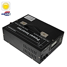 YPY-500A2 Home Lighting Solar Power Supply System, Support USB Output & Solar Power Panel(Black)