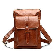 Genuine Leather Vintage Shoulder Bag Coffee Black Brown Crossbody Bags