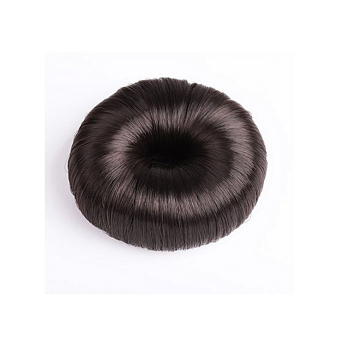 Buy Eissely Hot Women Synthetic Fiber Hair Bun Donuts Ring Blonde