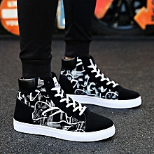 aadeae032 Men's Shoes Vans Casual Sneakers High Tops Board Shoes Flat Shoes-