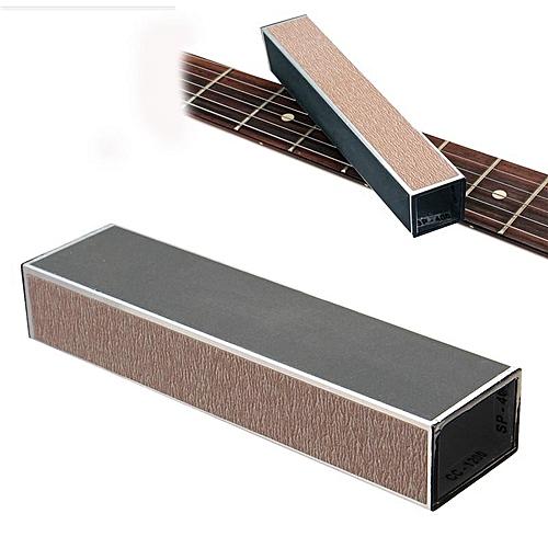universal guitar bass string instrument fret leveling files with self adhesive sandpaper best. Black Bedroom Furniture Sets. Home Design Ideas