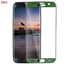 2pcs 3D 9H Ultra-thin Tempered Glass Film HD Clear Curved Screen Protector For Samsung S7 Edge