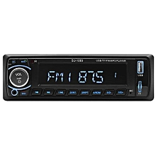 1Din Car Radio 12V Auto Audio Stereo Bluetooth Support FM USB SD BT MP3 Player Hands-free Call + Remote Control