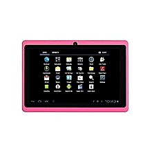 Q75S Tablet - 7 inch, 8GB, 512MB RAM, WiFi, Pink