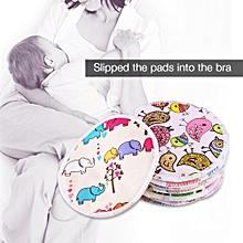 12pcs Soft Washable Bamboo Fiber Anti-spill Breastfeeding Pads