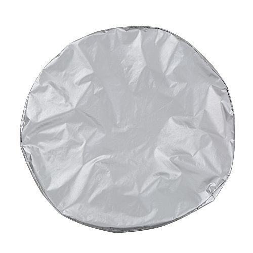 Generic Silver Color Nylon Fabric Tire Cover Fits For Car