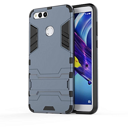 new product c5ed2 25283 For Huawei Honor 7X Case Hybrid Silicone Iron Man Armor Cover For Huawei  Honor 7X Full Protect Phone Housing Shock Protection Handphone Casing  751049 ...