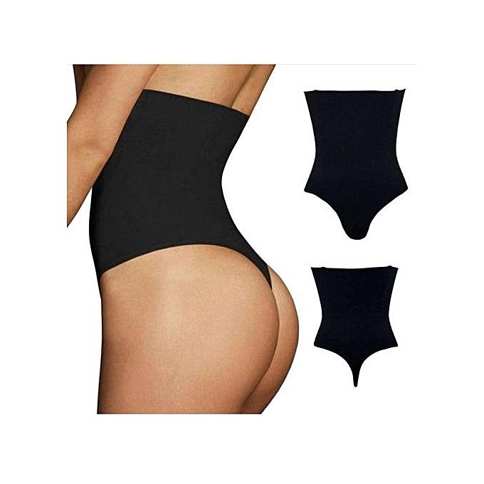 79913710f1d21 Generic High Waist Slim Pantie Tummy Control Corset Shapewear ...