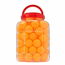 60PCs 40mm Table Tennis Olympic PingPong Balls Indoor Sports Toy Orange White