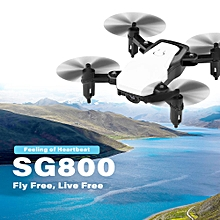 SG800 Mini 2.4G Foldable RC Drone Altitude Hold One Key Return Headless Mode RC Quadcopter for Training Christmas Gift