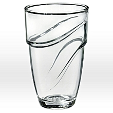 Wave Clear Tumbler - Set of 4 - 36CL - Clear