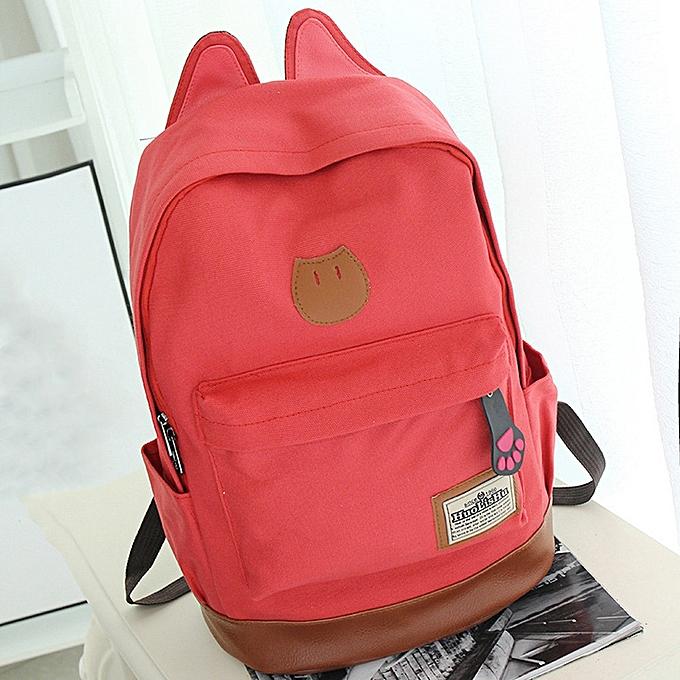 Hiamok Fashion Girls Boys Cartoon Zipper Backpack School Bags Fashion  Shoulder Bag aa89dad52261d