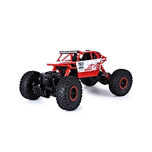 HB P1801 2.4GHz 1:18 Scale RC 4 WD Rock Crawler Toy Car USB Cable - Red