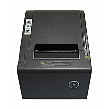 80mm Thermal POS USB Receipt Printer - Black