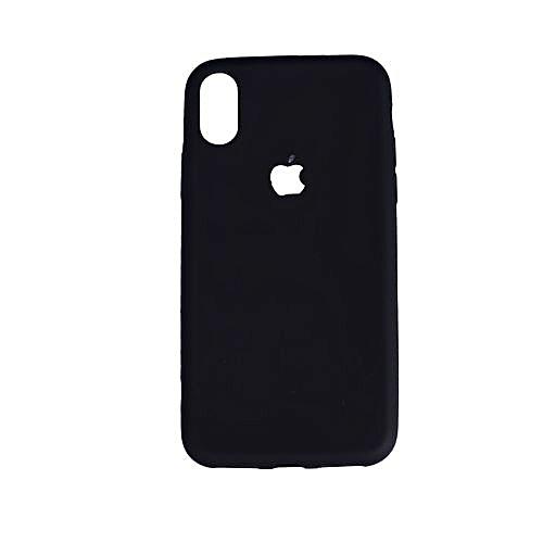 pretty nice 5a28f 7f3bd Iphone X Rubber Case Cover - Black