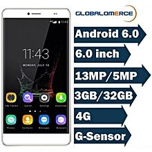"Maya Max - 6.0"" 4G Phablet Android 6.0 3GB/32GB Fingerprint G-sensor 4200mAh EU - Gold"