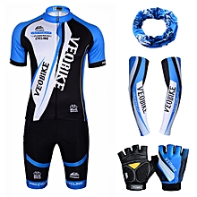 Professional cycling suits unisex bicycle bike mountain clothing cuff gloves shorts  combination