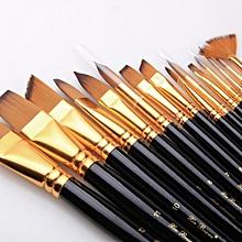 15 Pcs Paint Brush Set Paint Gouache Painting In Oil Painting Palettes Pens