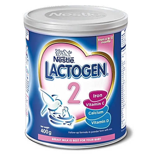 Lactogen 2 Baby Formula - 400g