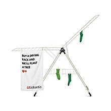 476068 - Drying Rack T-Model - 20M Fresh White