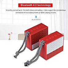 Waterproof Bluetooth Speaker TWS Bluetooth 4.2 Couple Lanyard Portable Speaker IP66 Long Standby Stereo Speaker