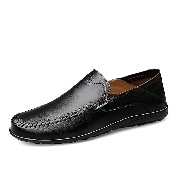 Generic Luxury Shoes Men Loafers Moccasins Genuine Leather Driving