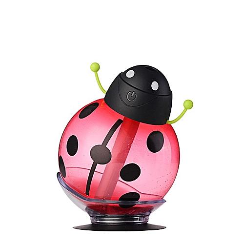 12162f718 Generic car air freshener Ladybug Ultrasonic Humidifier 5V Led Light USB  Portable Office Car Air Diffuser Mist Maker DC 260ML ruijie QCJNG