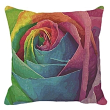 Hequeen New Rainbow Seven Color Creative Fashion Pillow Cushion Pillow