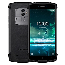 DOOGEE S55 Triple Proofing Phone, 4GB+64GB, IP68 Waterproof Dustproof Shockproof, 5500mAh Battery, Dual Back Cameras, Fingerprint Identification, 5.5 inch Android 8.0 MTK6750T Octa Core up to 1.5GHz, Network: 4G, Dual VoLTE(Black)