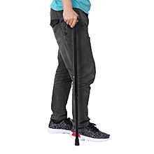 "Adjustable Walking Cane Strong Aluminum Ergonomical Handle 20"" To 35"""