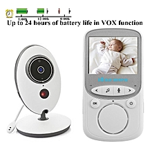 2.4GHz Wireless Digital LCD Color Baby Monitor Camera Audio Video Night Vision AU