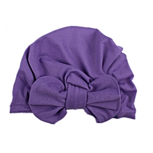 Baby Bow Hat Toddler Beanie Soft 5 Colors Cotton Outdoor Bowknot Turban Cap  Baby Accessories Children 70a77ff4e8df