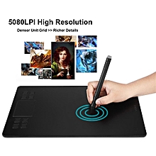 10*6in Sense Area Graphic Drawing Pad Tablet Board Single-finger&Dual-finger Digital Graphic Tablet