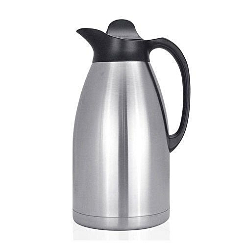 3L Unbreakable Vacuum Flask stainless Steel shell  - Silver