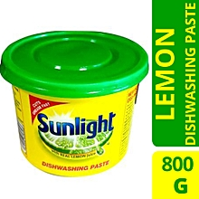 Sunlight Dishwash Paste Lemon - 800g