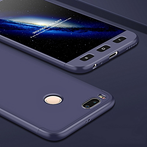 the latest 4758e 3eb3a For Xiaomi Mi A1 Case for XiaoMi Mi A1 Case Luxury 360 Full PC Back Cover  Case For Xiaomi Mi A1 Protection Phone Case