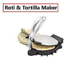 Chapati Maker/ Roti Maker -10″ black and Silver