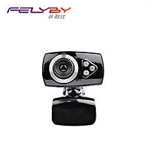 PC Camera Universal Plug Play No Driver Required web camera 3 Megapixel USB 2.0 Webcam 3 LED Lighting Family video