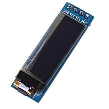 """Iic I2c 0.91 128x32 White Oled Lcd Display Module 3.3v 5v For Arduino Pic"""" blue"""