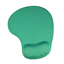 Mouse Pad With Gel Wrist Support for PC Notebook Laptop - Green