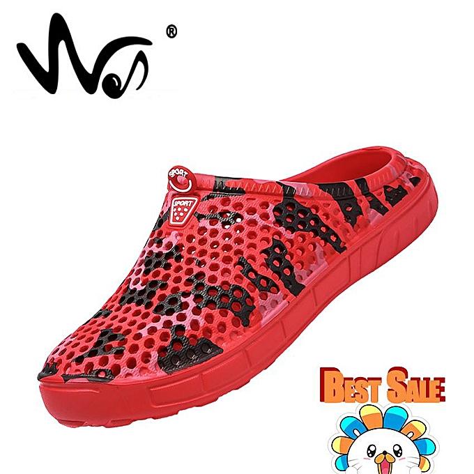 Summer Men's Hole Shoes Beach Shoes Bird's Nest Slippers Shoes Low Shoes  Sports Shoes