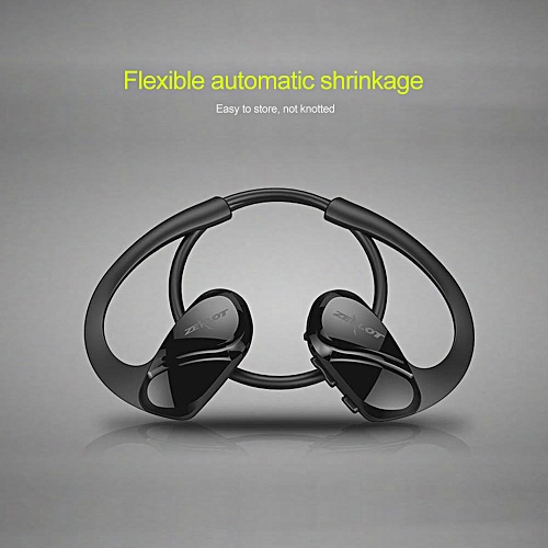cd7f19d276c147 Zealot ZEALOT H6 Bluetooth Headphones Stereo Bass Wireless Sports Running  Earphone with Microphone For Smartphone Headset (Black) WANKAI