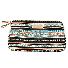 UJ Bohemian Design 12 /14 /15 Inch Canvas Laptop Bag Notebook Sleeve Case Pouch-multicolor
