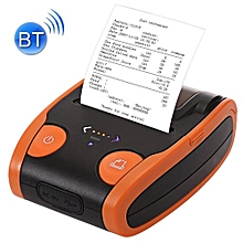 QS-5806 Portable 58mm Bluetooth POS Receipt Thermal Printer(Orange)