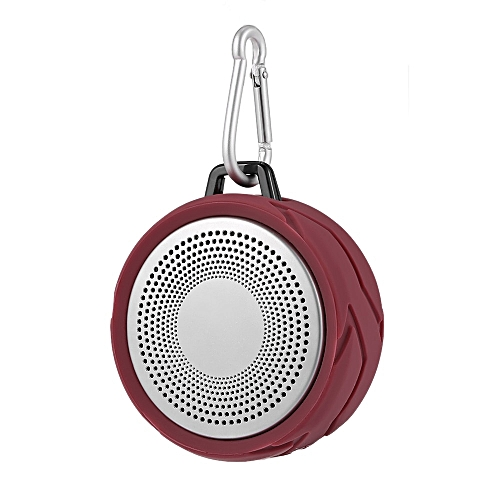 MINI Deep bass Bluetooth Speaker 4W Outdoor Wireless Speakers Subwoofer  Hands-free With HD Mic Chain Hook For iphone Samsung HS MALL