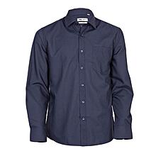 Navy Long Sleeved Men's Official Shirt