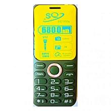 SQ1000S - 6800mAH Dual SIM Wireless FM Camera Phone - Green